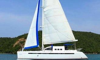 43' Cruising Catamaran Sonic Charter in Muang Pattaya, Thailand