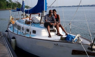 37' Sailing Yacht Charter in Singapore