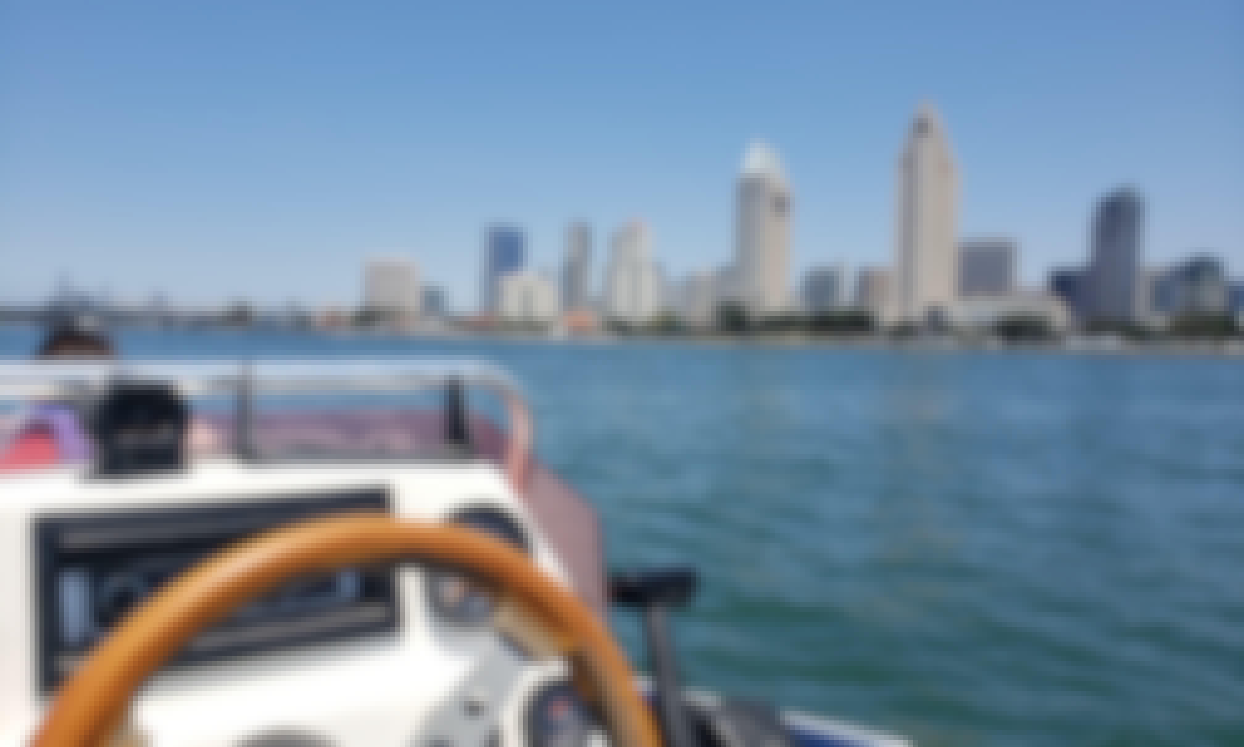 Book the Ozark Flat Deck Boat In San Diego!