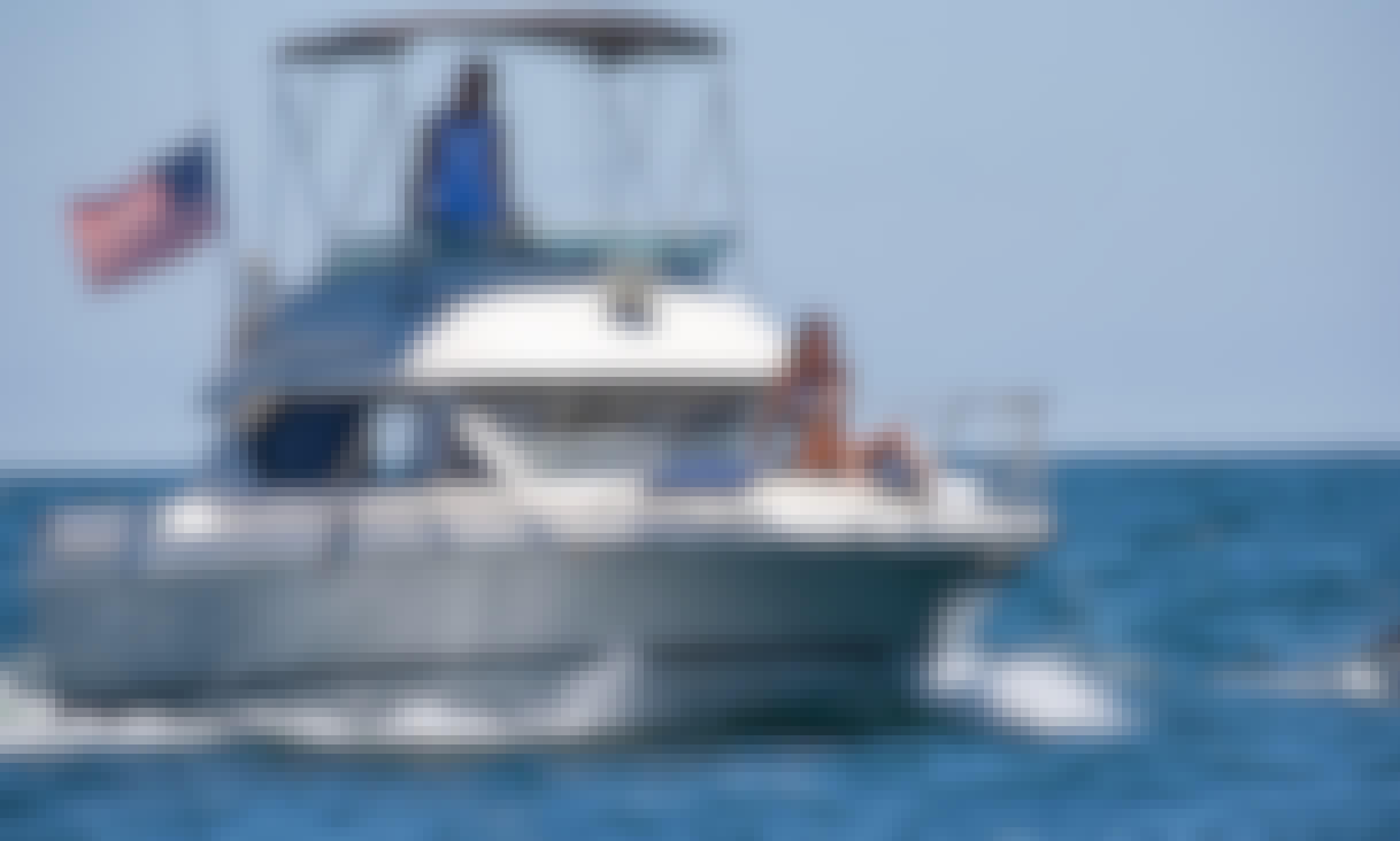 Mini Flybridge Yacht in Huntington & Newport Beach