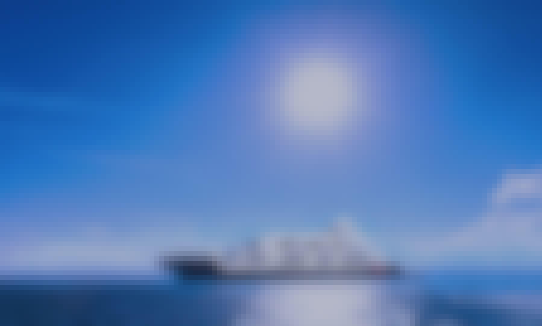 Majestic Trimaran Mega-yacht in Mykonos
