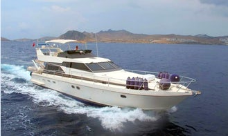 Guy Couach 1601 Motor Yacht for Charter for 6 Guests in Muğla, Turkey