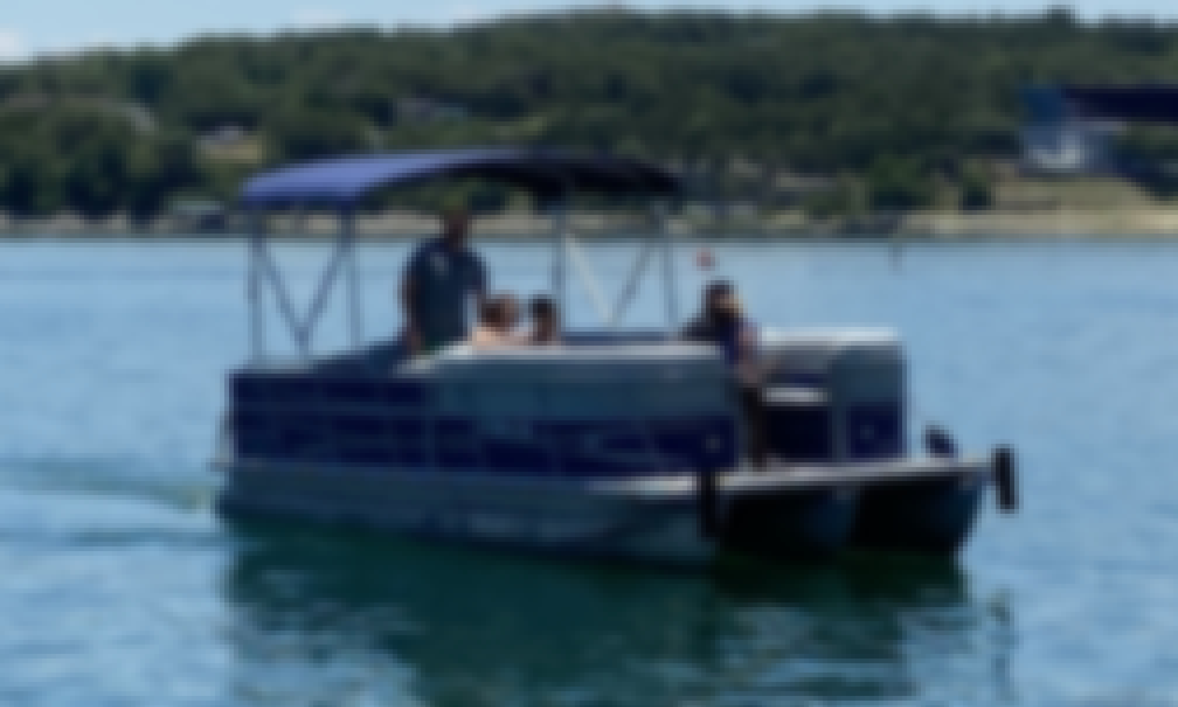 Bentley Tritoon Boat Rental in Austin, Texas for 10 person!