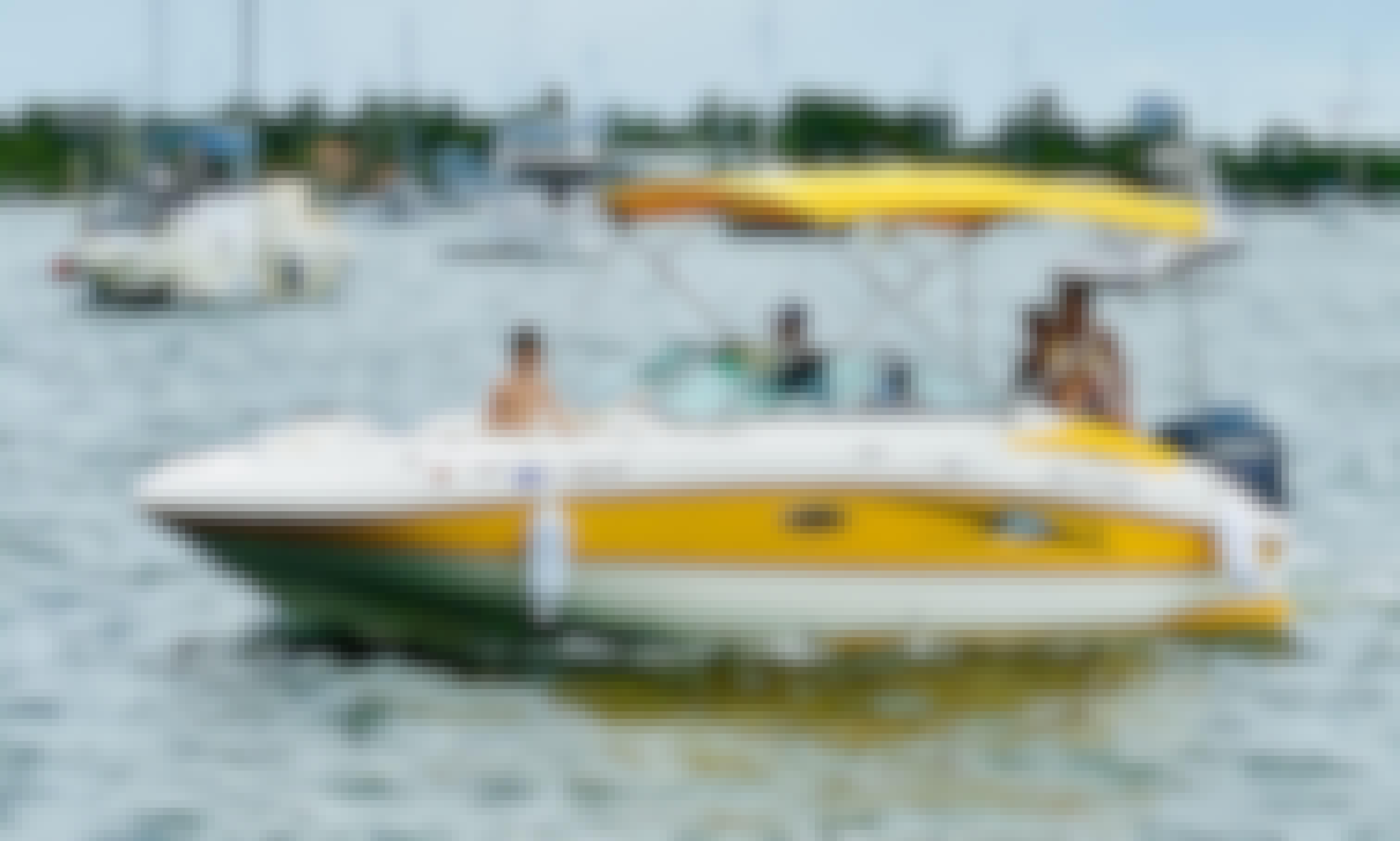 Hurricane 20ft Boat Rental in Dania Beach Florida