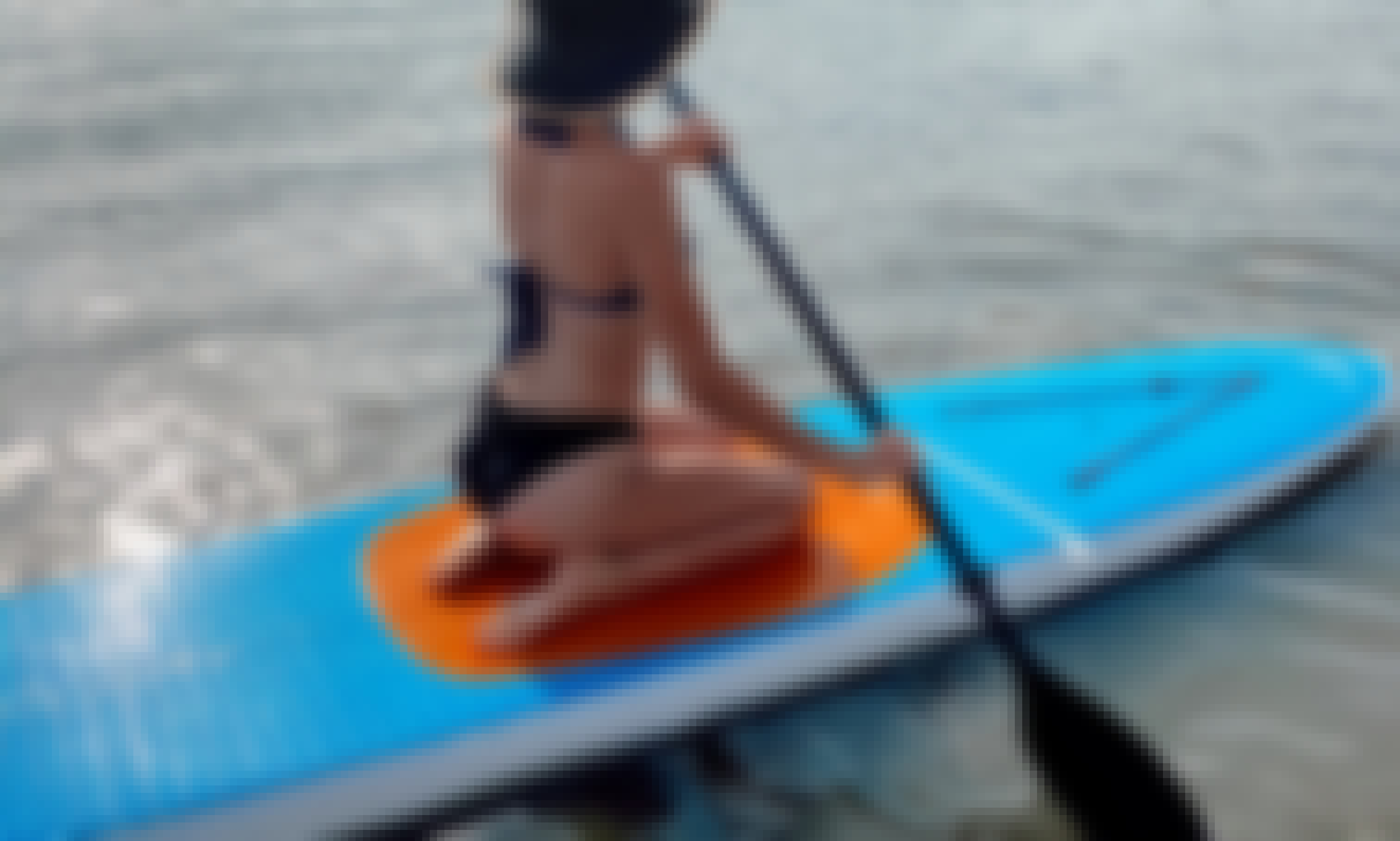 Stand Up Paddleboard Yoga in Ocean City, MD