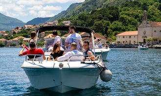 Private Tours or Boat Rentals in Kotor Bay with Skipper