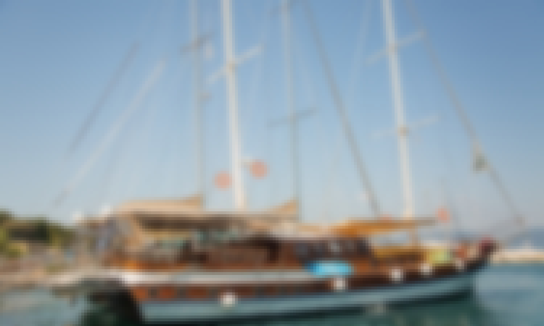 Charter 85' Custom Sailing Gulet From Kontokali, Greece!