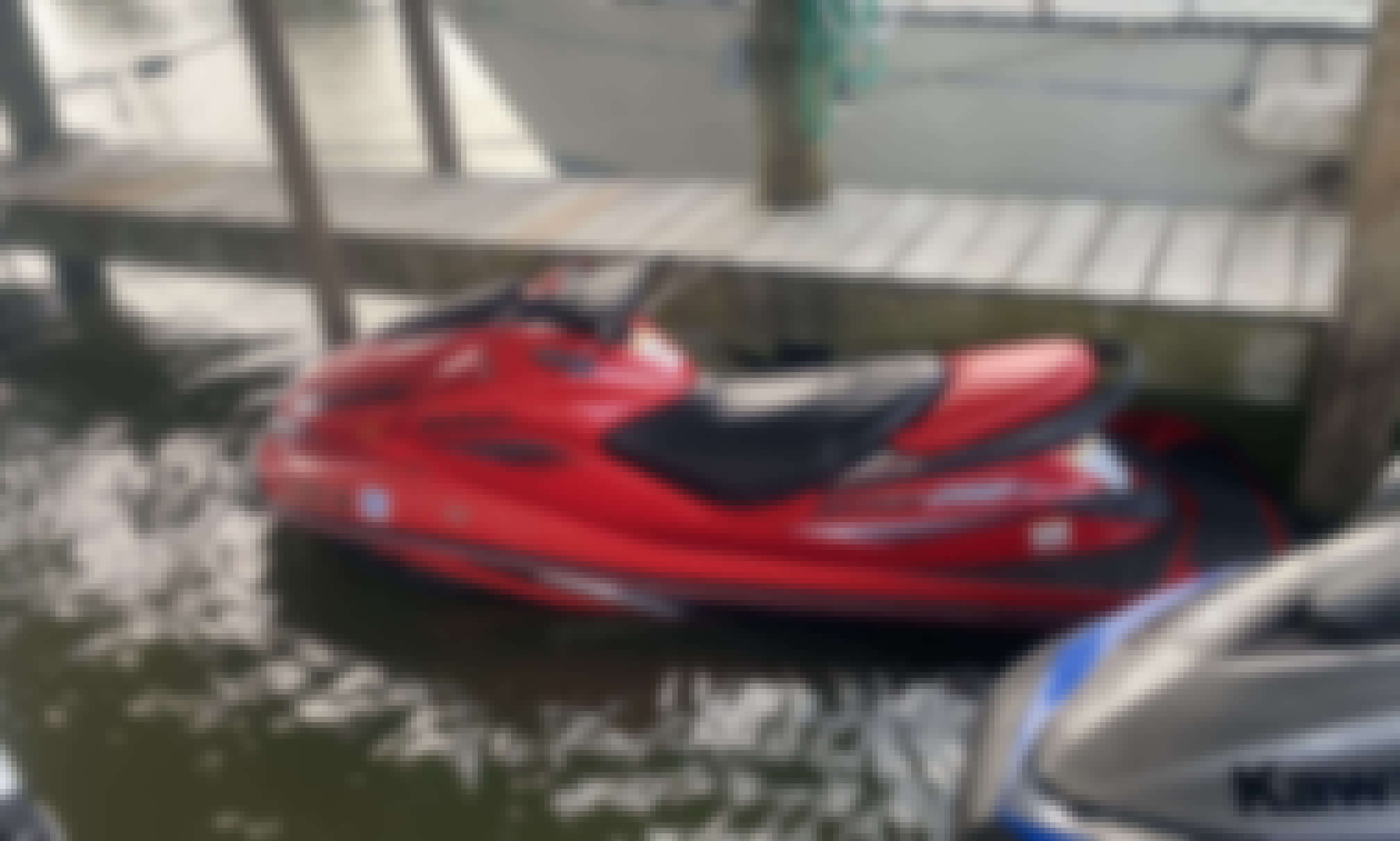 The Jet Skis Drip Experience from Seabrook, Texas