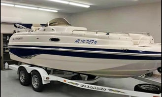 Stardeck Boat Rental in Little Rock/Hot Springs