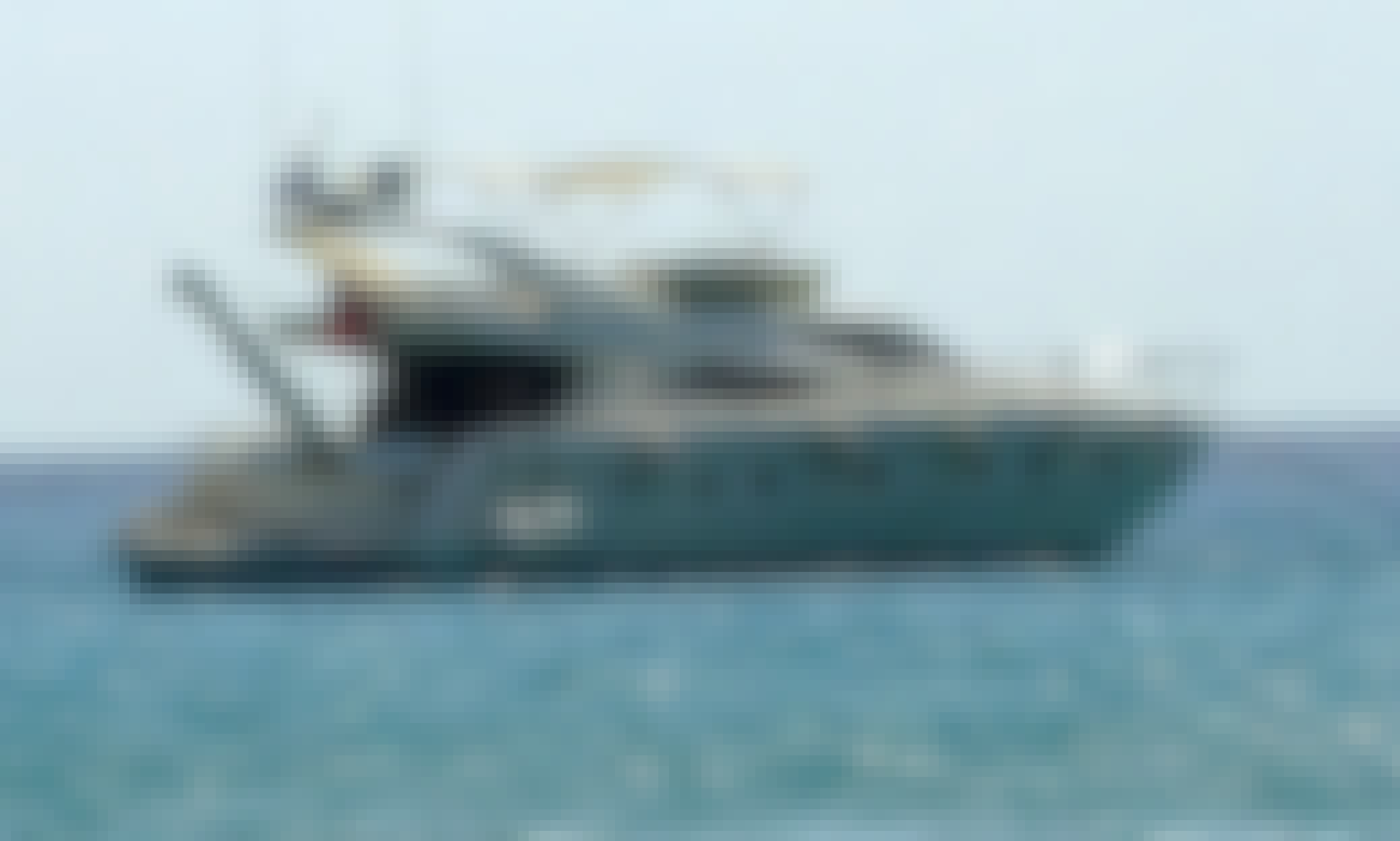 ONLY LUXURIOUS 70ft YACHT ON RENT in Abu Dhabi-ITALIAN BUILT