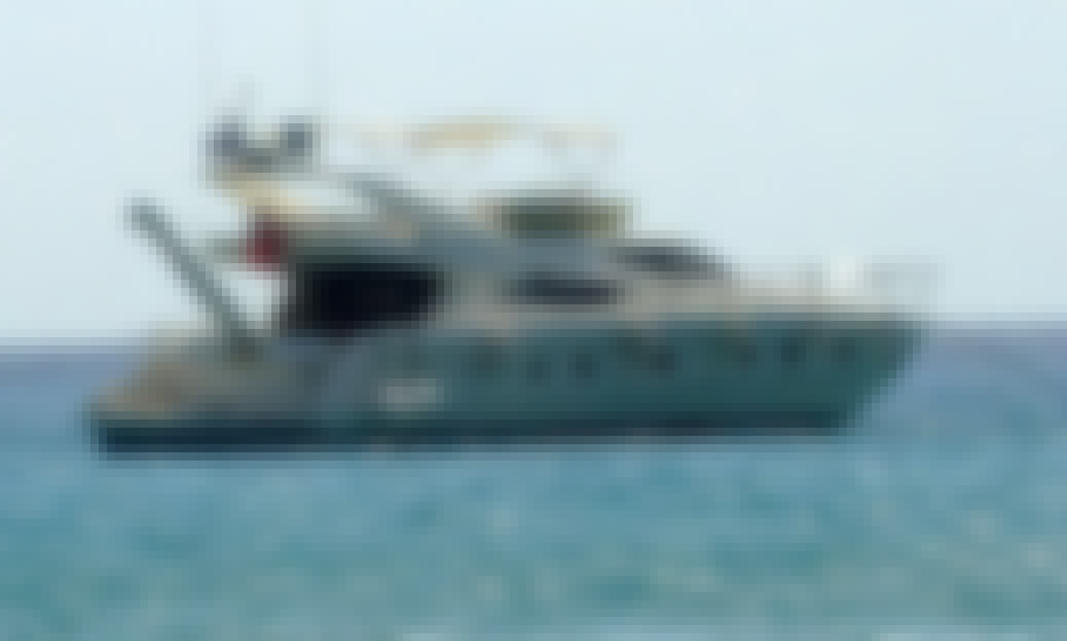 ONLY LUXURY 70ft YACHT ON RENT in Abu Dhabi-ITALIAN BUILT