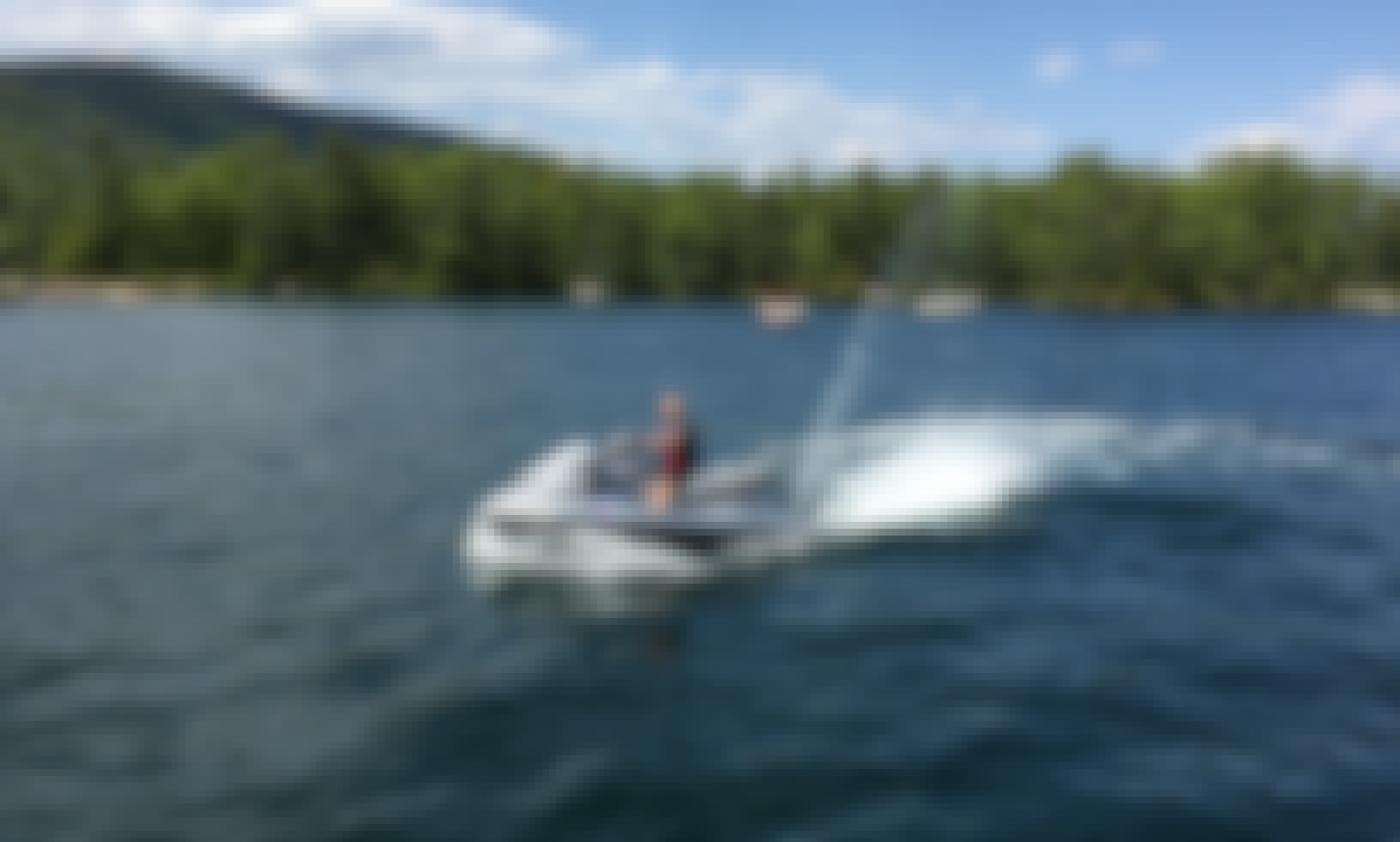 Powerful And Comfortable Yamaha FX Jetski In Lake George. Top Speed 70mph!