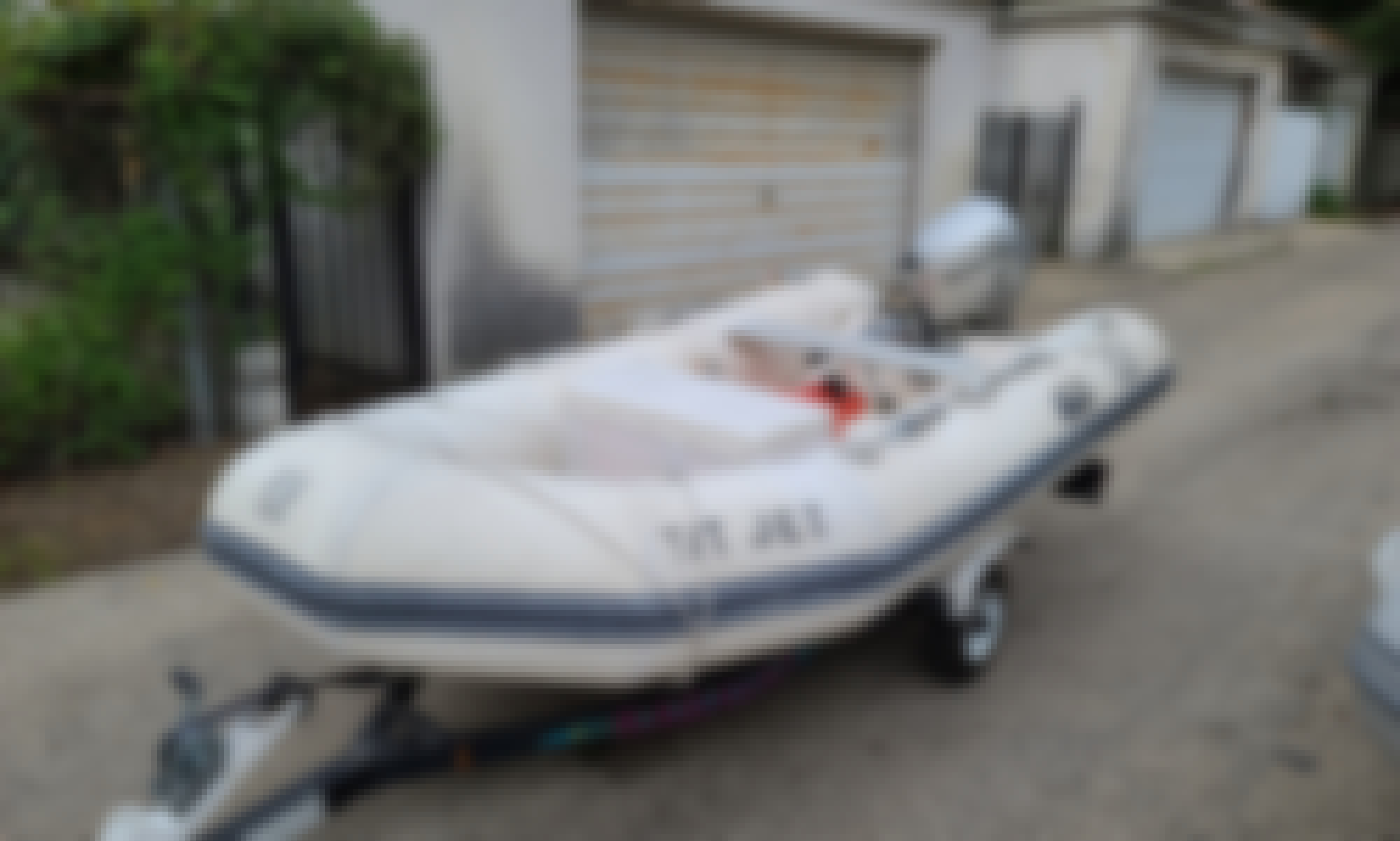10ft Zodiac RIB Boat Rental with a 9.9HP Honda 4 Stroke Outboard in Chicago!