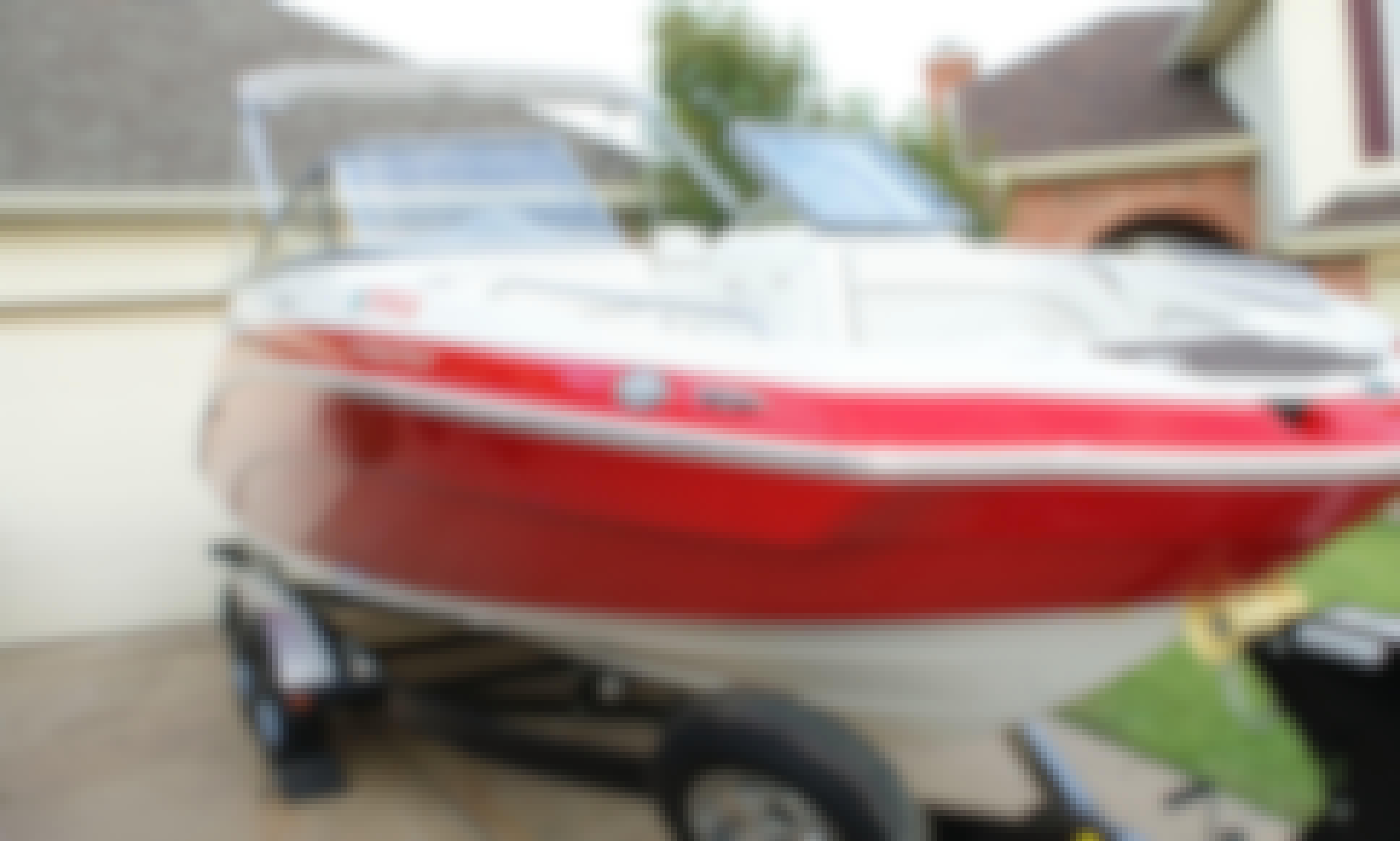 Yamaha SX240 HO for Rent on Lake Ray Hubbard, Texas