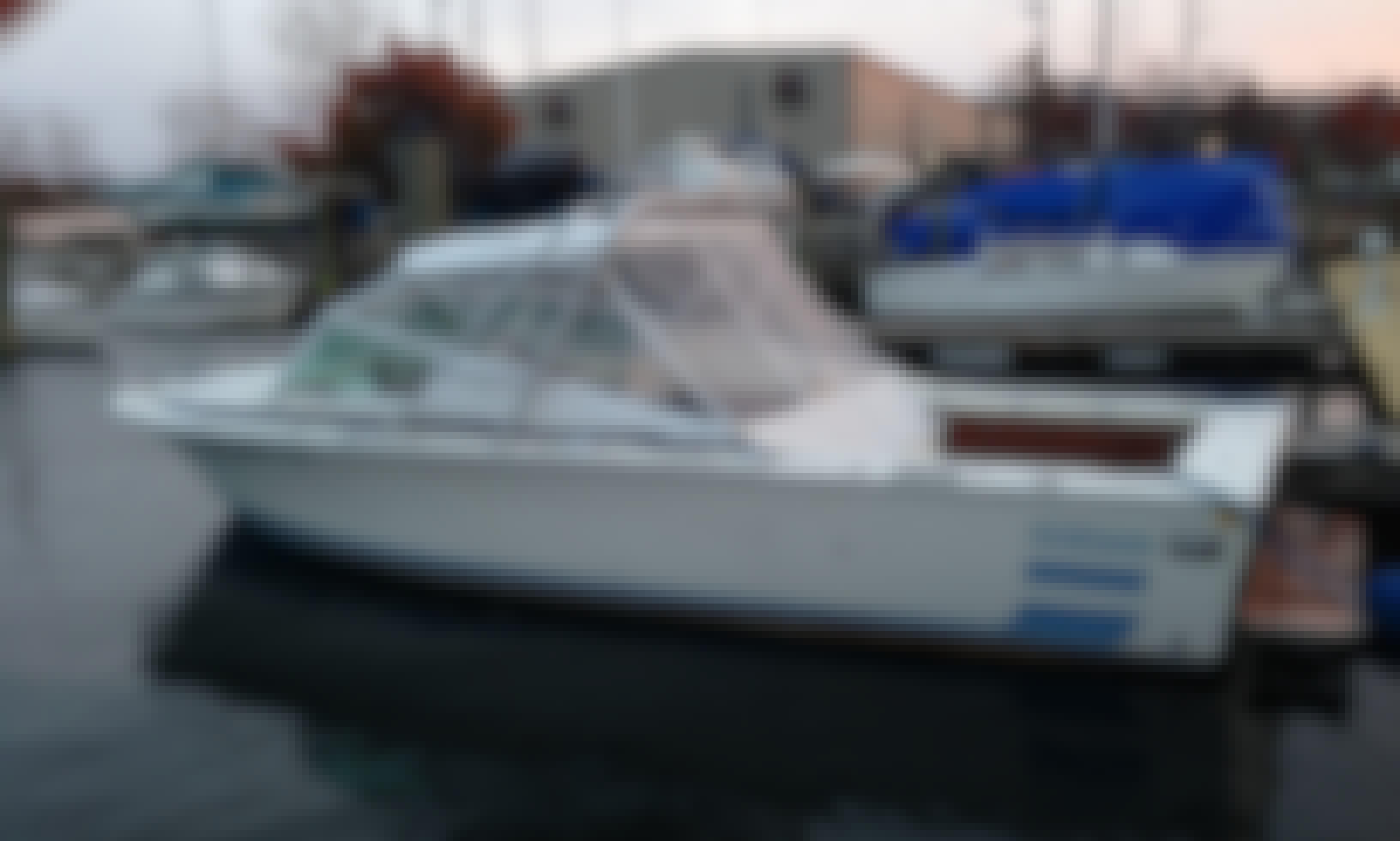 Book the Classic Bertram 26 Open Sport Motor Yacht in Boston, Massachusetts