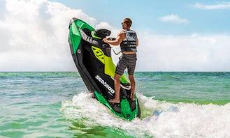 Rent 2021 Sea Doo Spark Trixx jet ski in Oshkosh