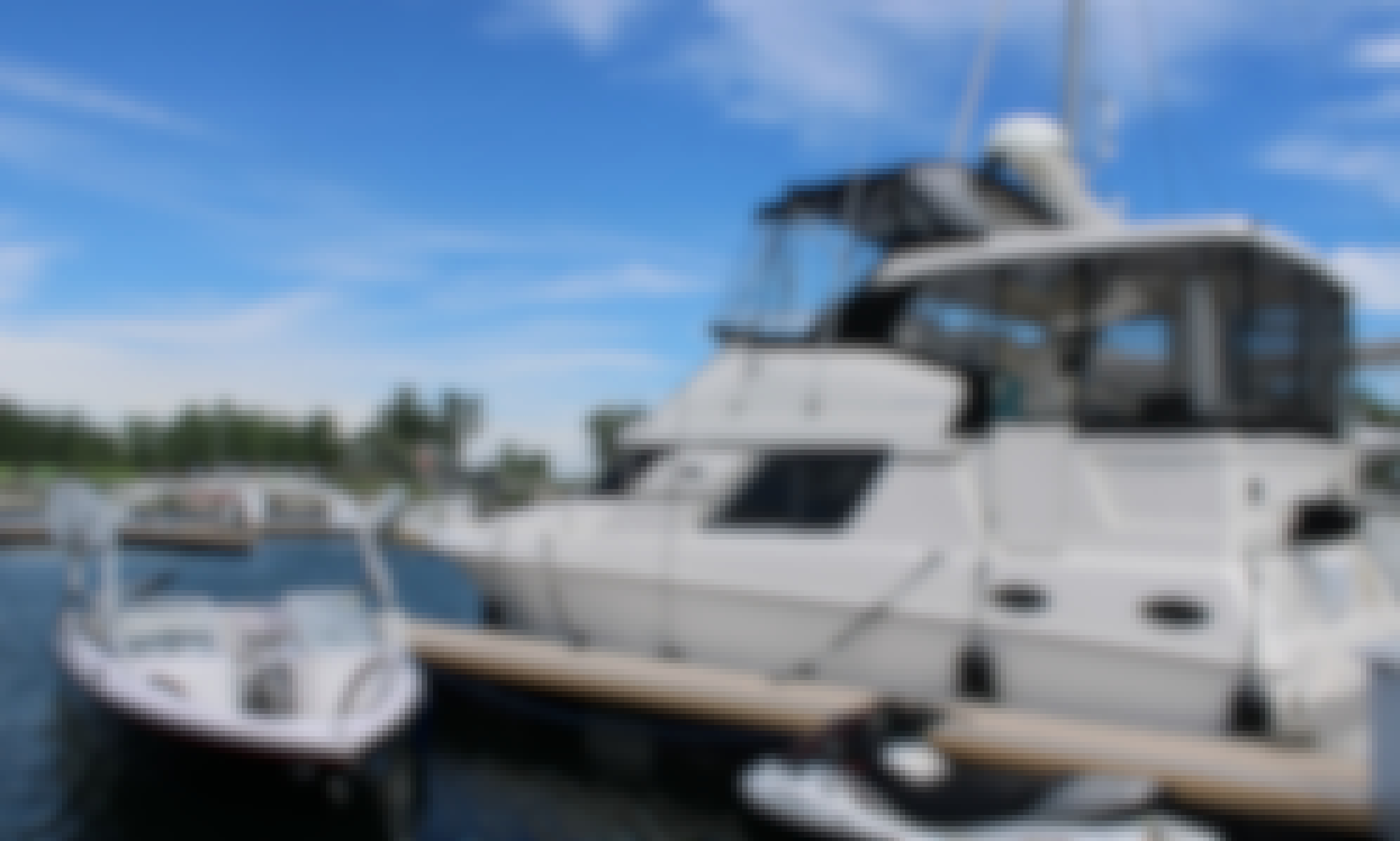 Private Yacht Charter On Paraiso Toronto - 45' Power Yacht