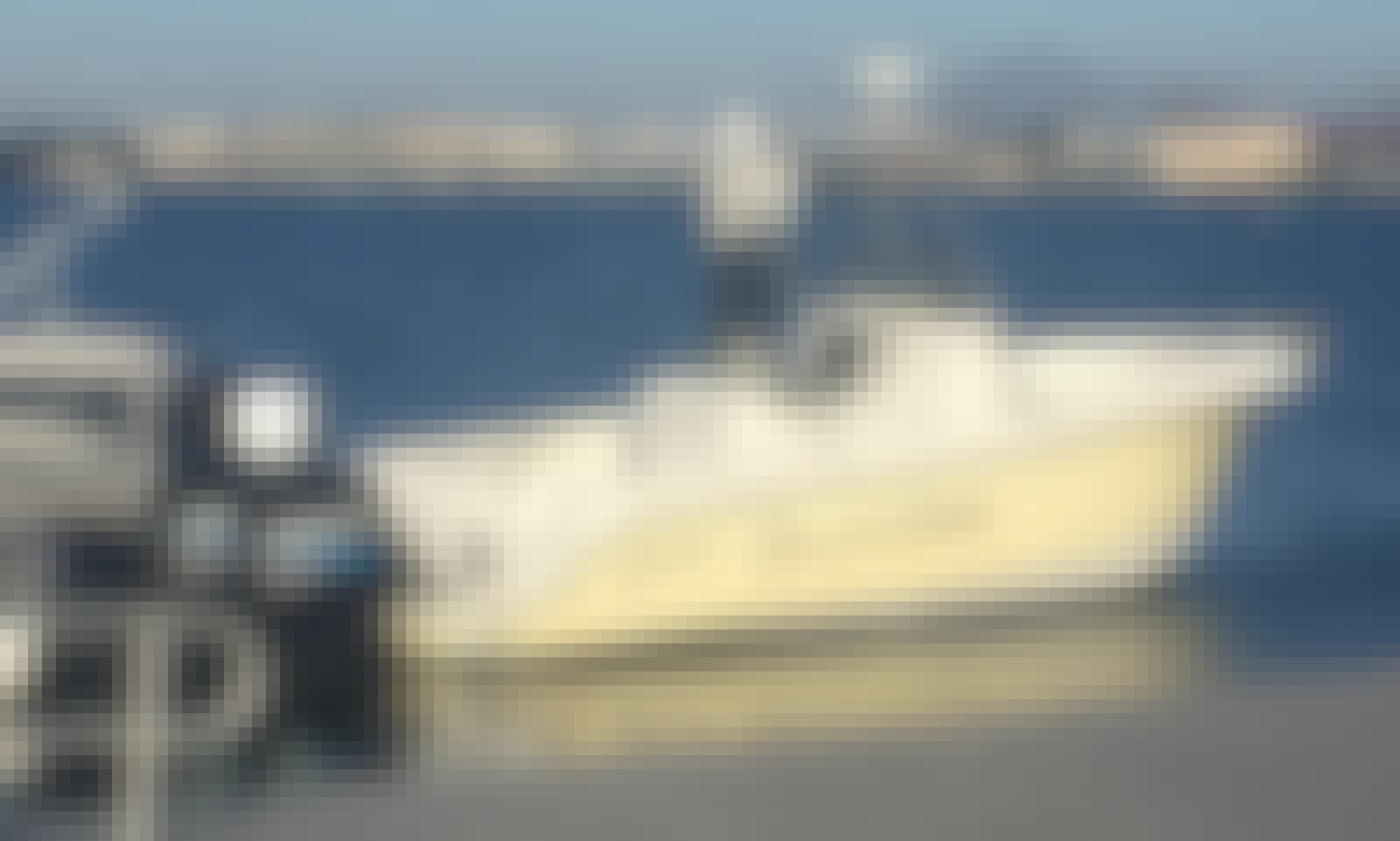 Power-fishing on Polar 2300cc Dynasty Boat in San Diego, California