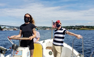 1-Hour Lake Union Tour on Mocha onboard 26' Adventure Mini-Ferry