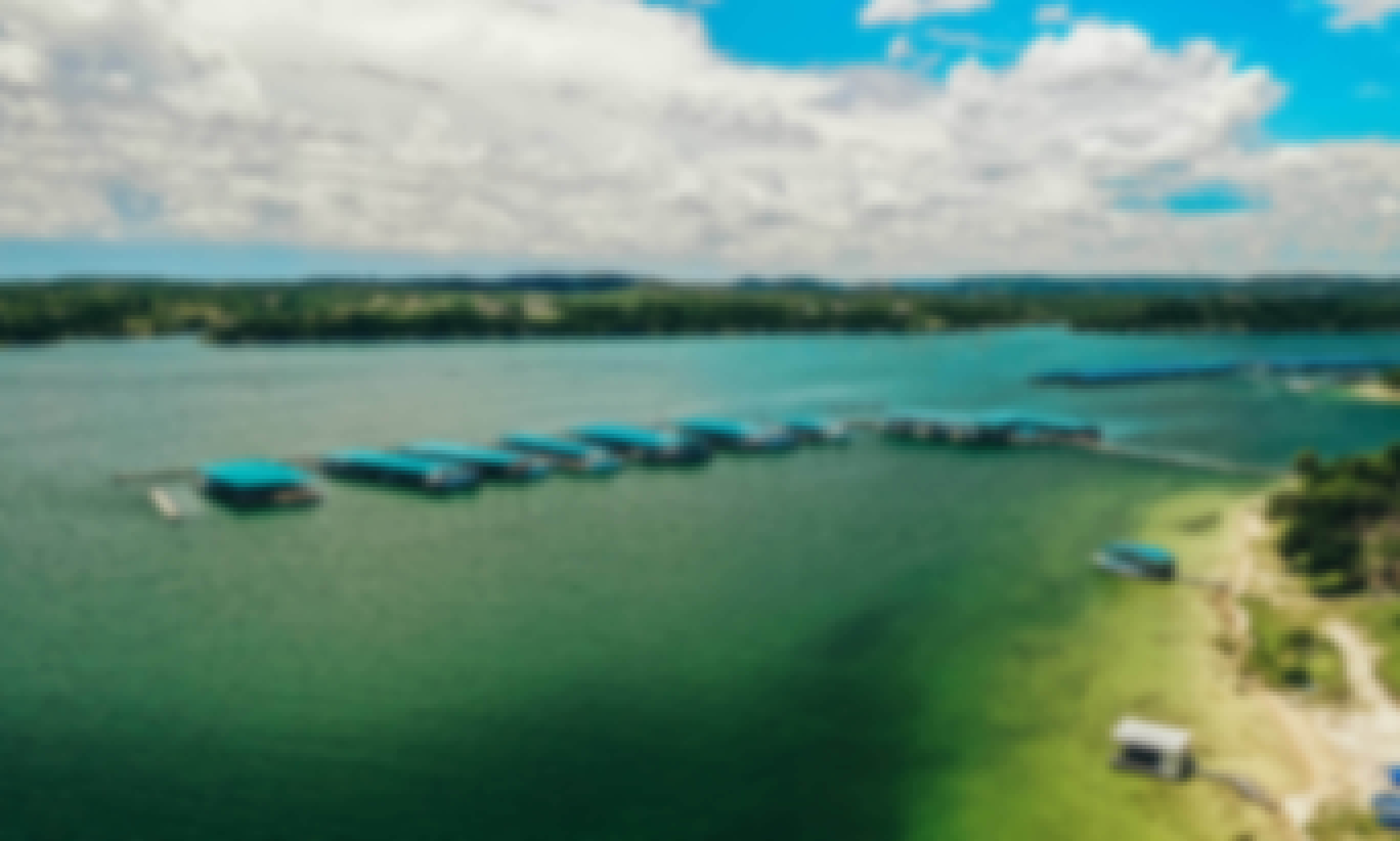Spend a Night onboard an Airconditioned 55' Houseboat on Sometimes Islands in Lake Travis
