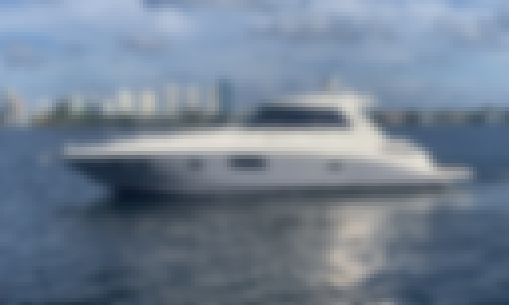 Beautiful Sea Ray Sundancer 45 Motor Yacht Rental in Miami, Florida