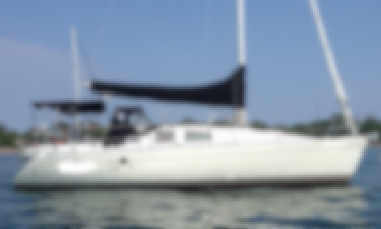 33' Beneteau Cruising Monohull Sailing Charter in Toronto, Ontario