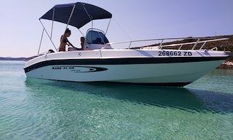 Super Fresh Mano Marine Sports Fisher Rental in Zadar