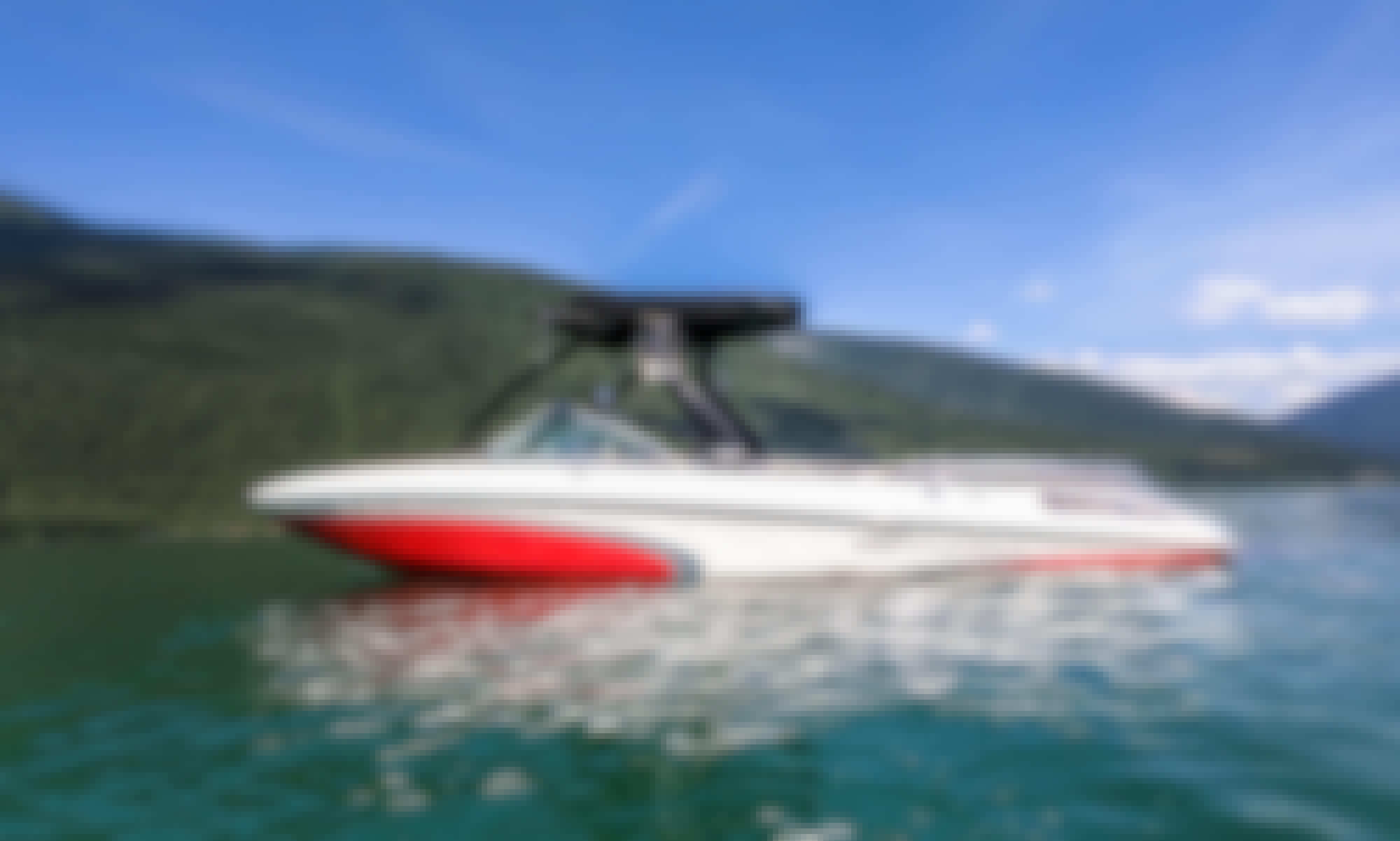 23' Centurion Enzo Wakeboat for Rent in Revelstoke, British Columbia