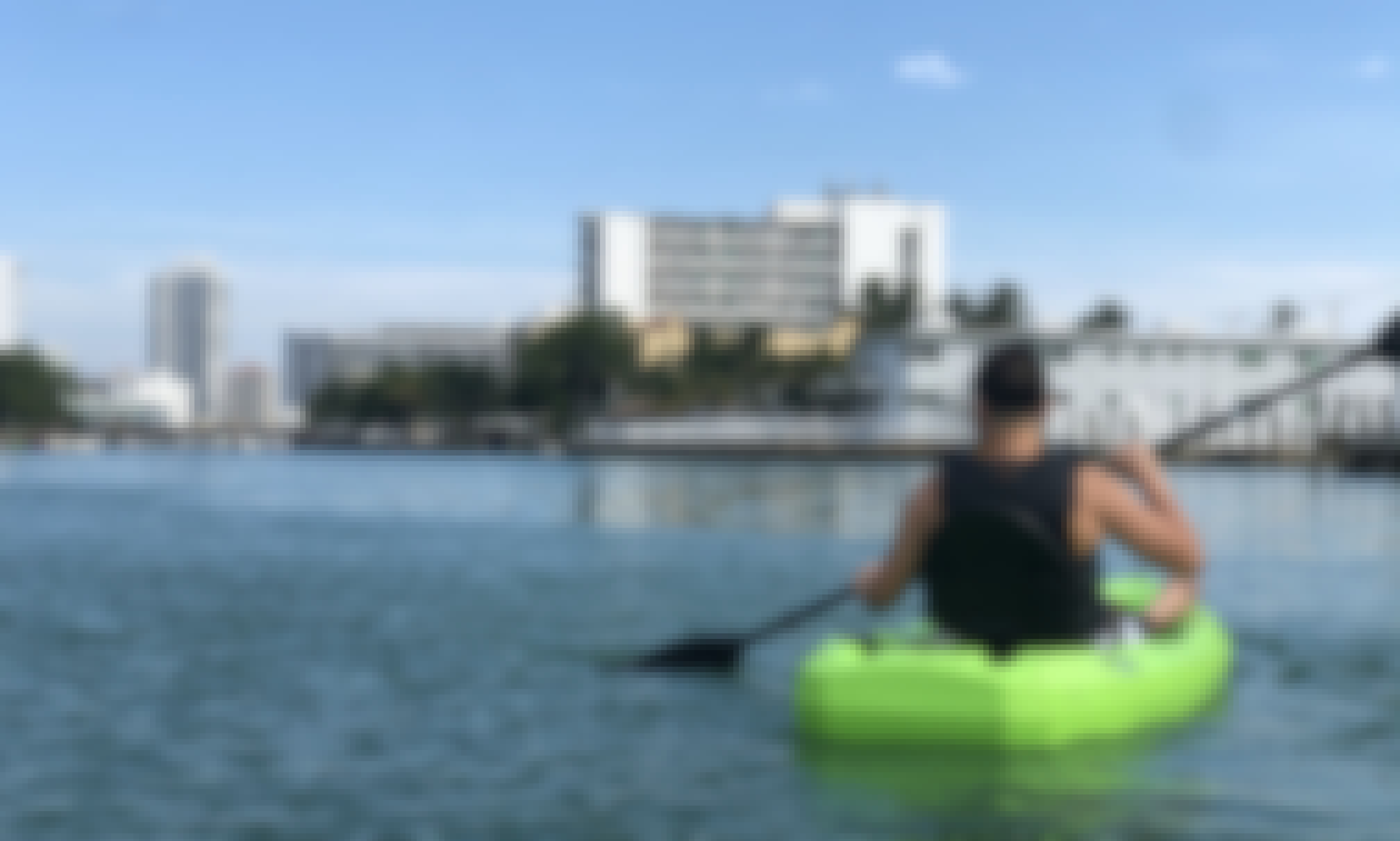 Two Single Kayaks for Rent from Miami Beach, Florida