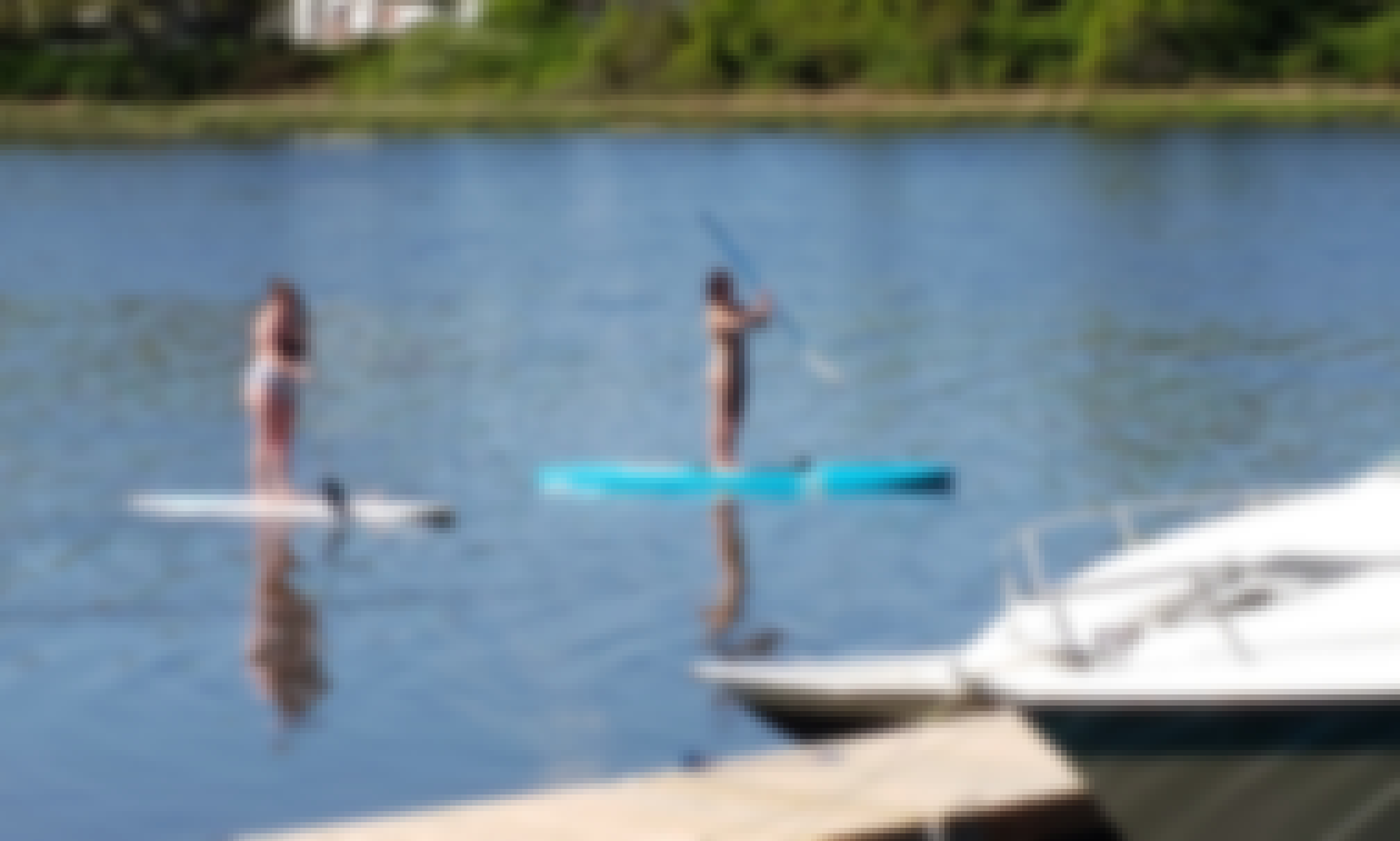 Paddle board Riverside and Barrington
