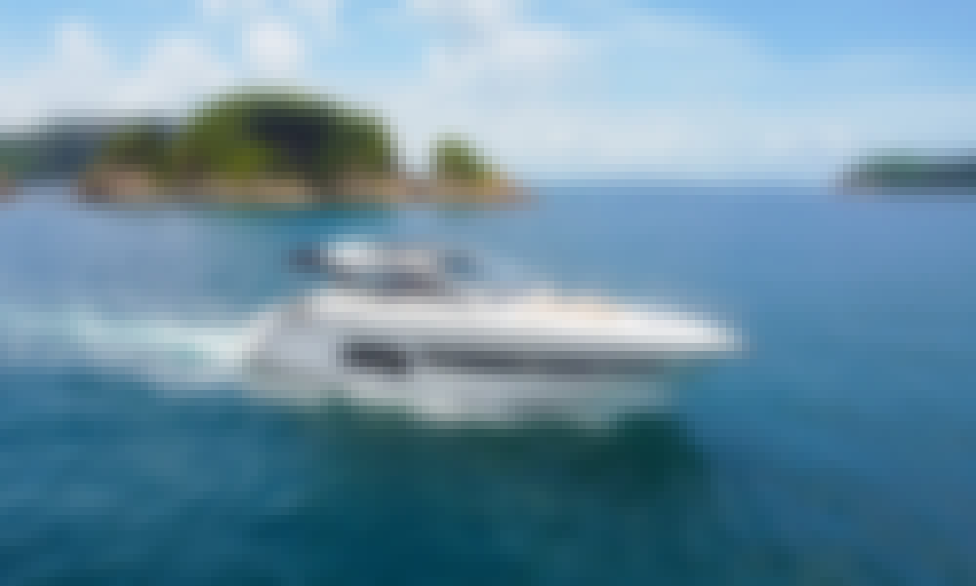 Book the Azimut Atlantis 43 Motor boat in Hong Kong Island!
