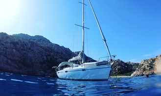 Captained Charter this Sailing Yacht Beneteau Oceanis 390 in Cannes,