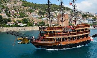 Charter a Sailing Mega Yacht in Antalya, Turkey