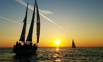 2 to 2 1/2 hr. Public Sunset Sailing Excursions from St. Pete Beach, Florida!
