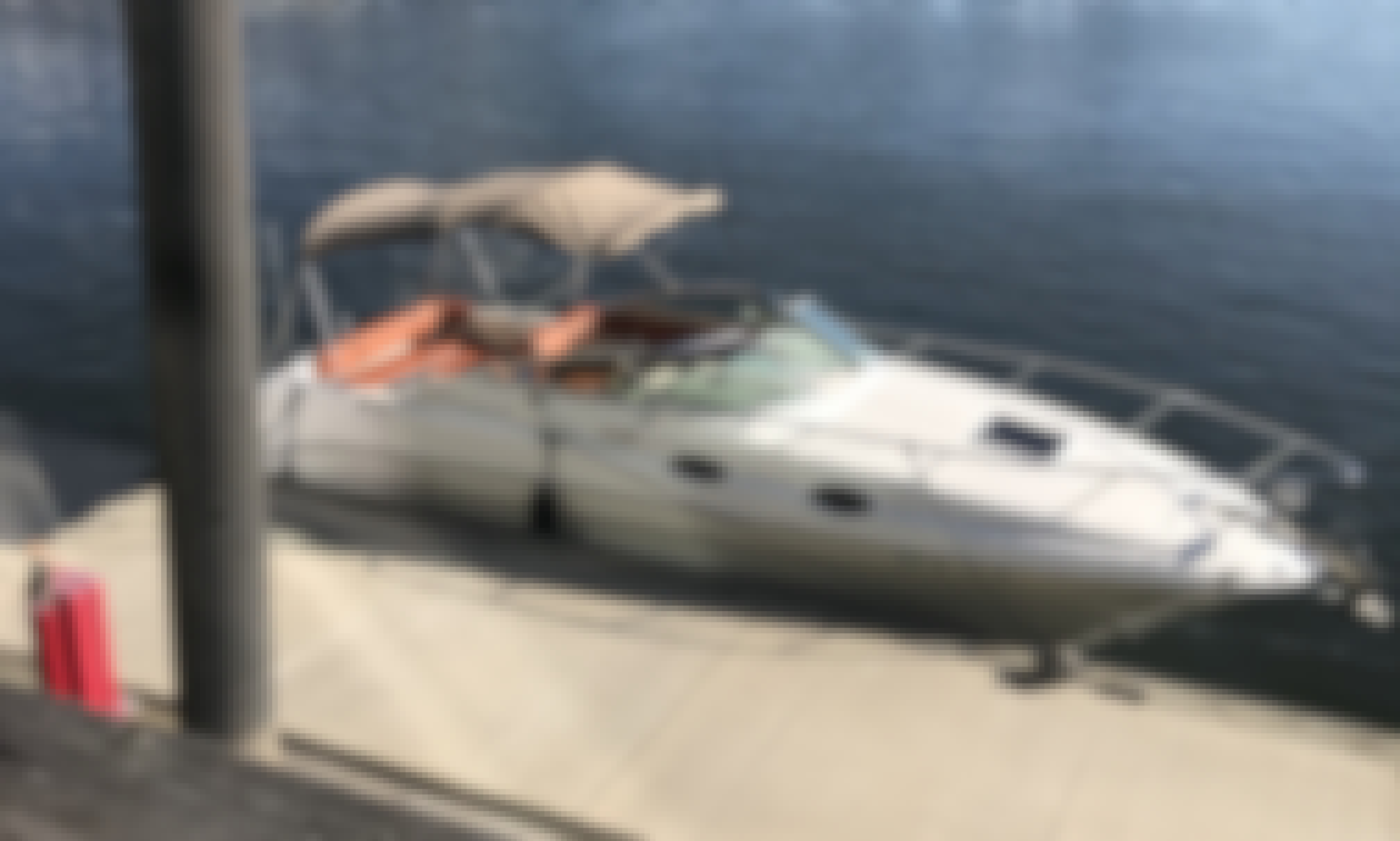 Let your dreams become reality on this custom 28' Sea Ray Sundancer