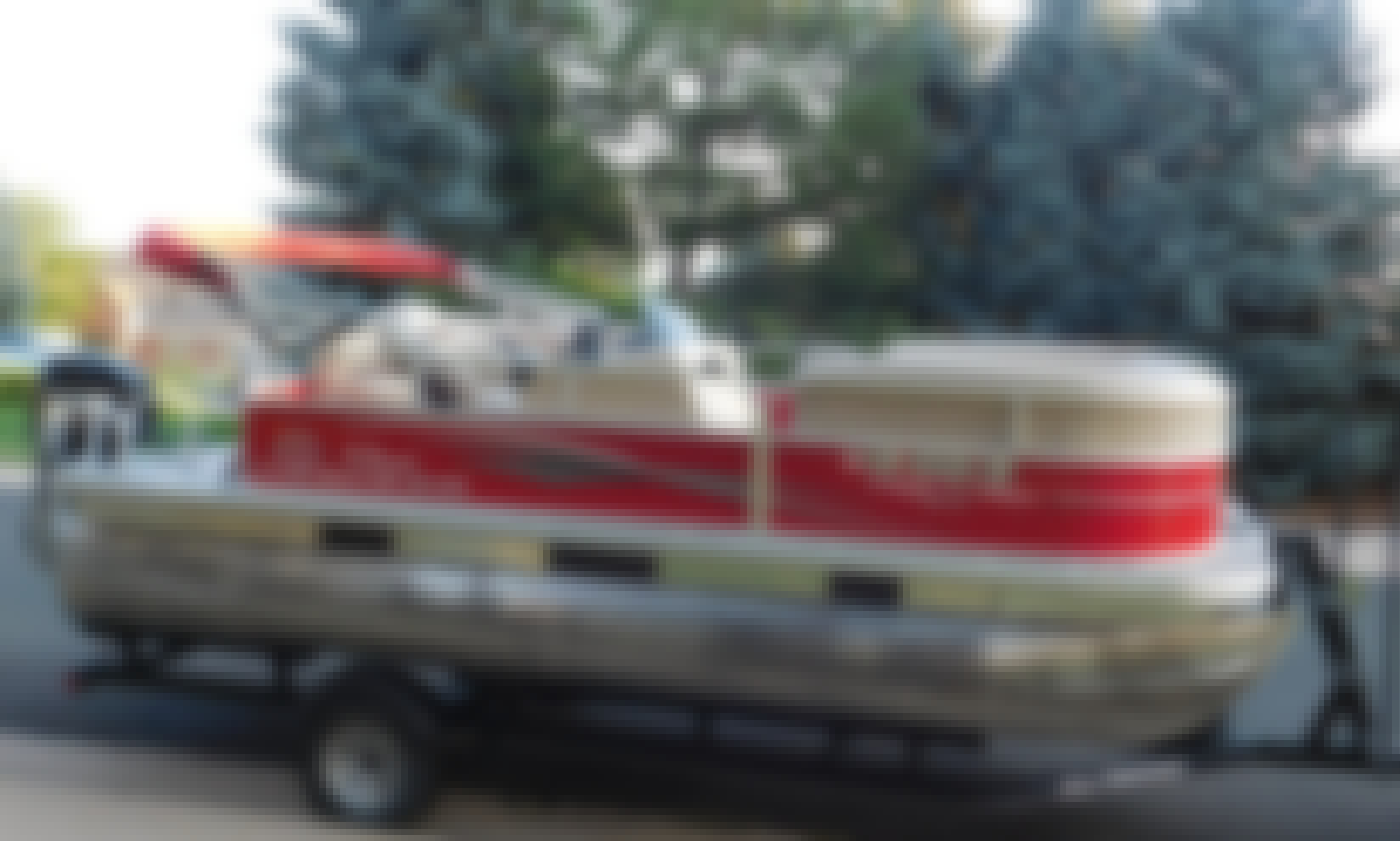 Sun Tracker Party Barge Pontoon/Fishing boat for rent in Centennial!