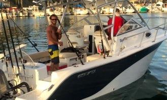 Beautiful Sea Fox 256 Walk-around yacht Ready for Rent in San Diego, California