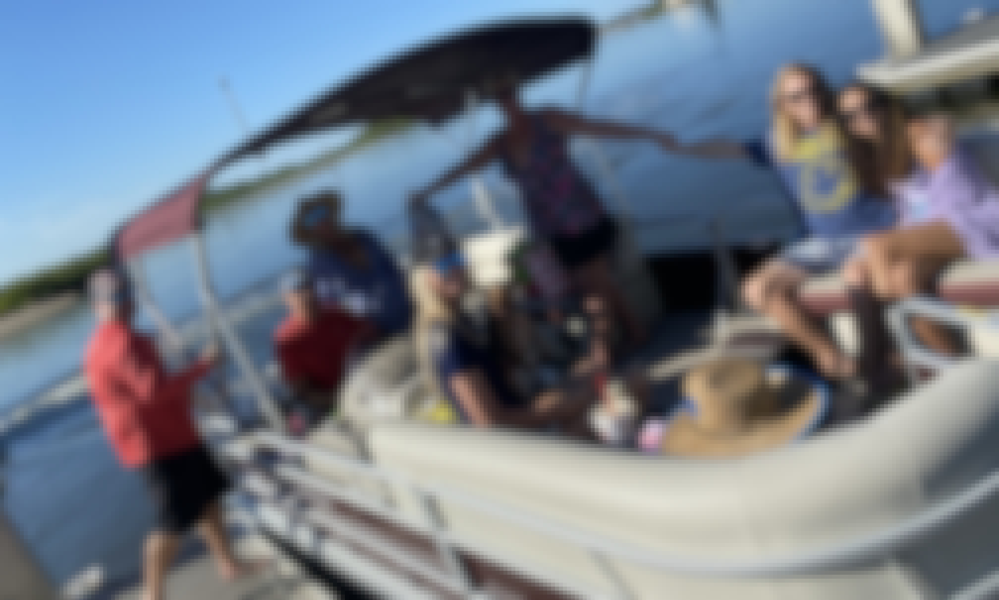 7-Person Pontoon Boat for Rent in Orlando, Florida