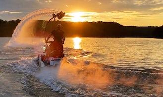 Hydro Bike at Lake Lanier or Lake Allatoona