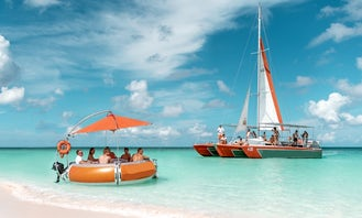 Private Catamaran - 41foot long and 25-foot-wide catamaran. Palm Beach, Aruba