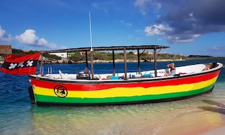 Fun Boatrips with a Personal Touch for Up to 30 Guests in Willemstad, Curaçao