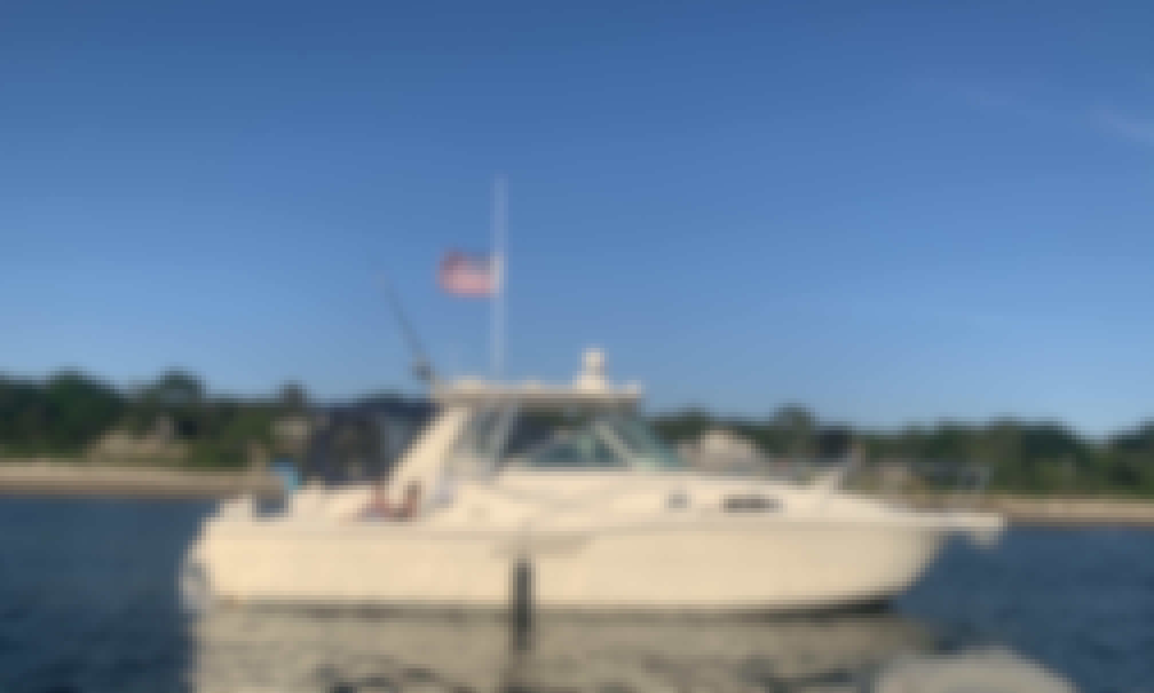 30' Pursuit Motor Yacht Rental in Boston, Massachusetts