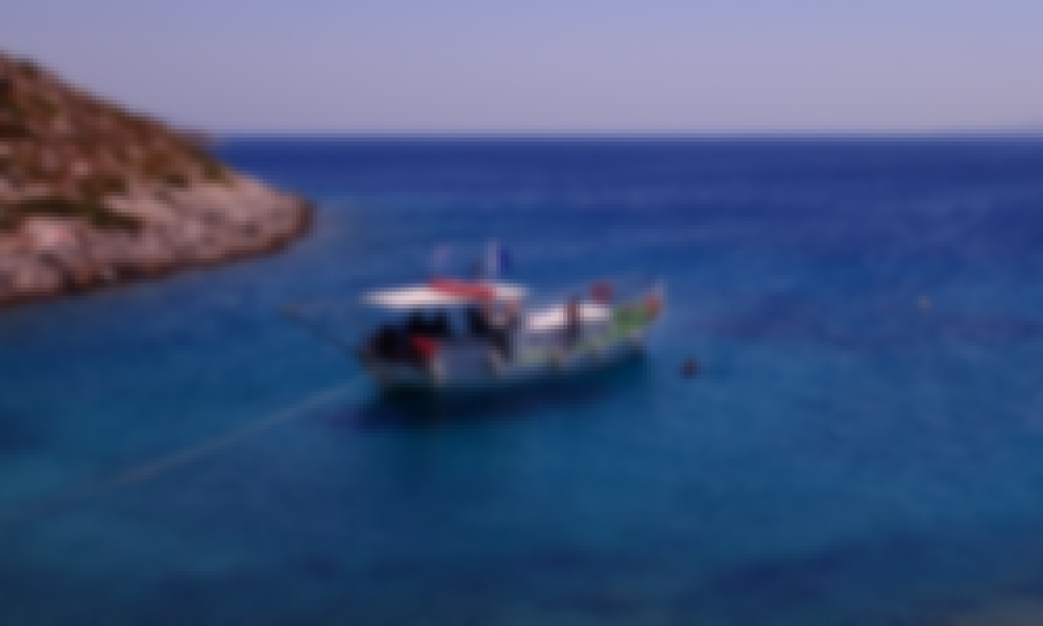 Private Boat Trip to Kos Island (max. 6 persons) onboard a Traditional Greek Boat with friendly crew!