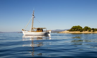 Spetses Private Day Trips On Board Traditional Wooden Kaiki