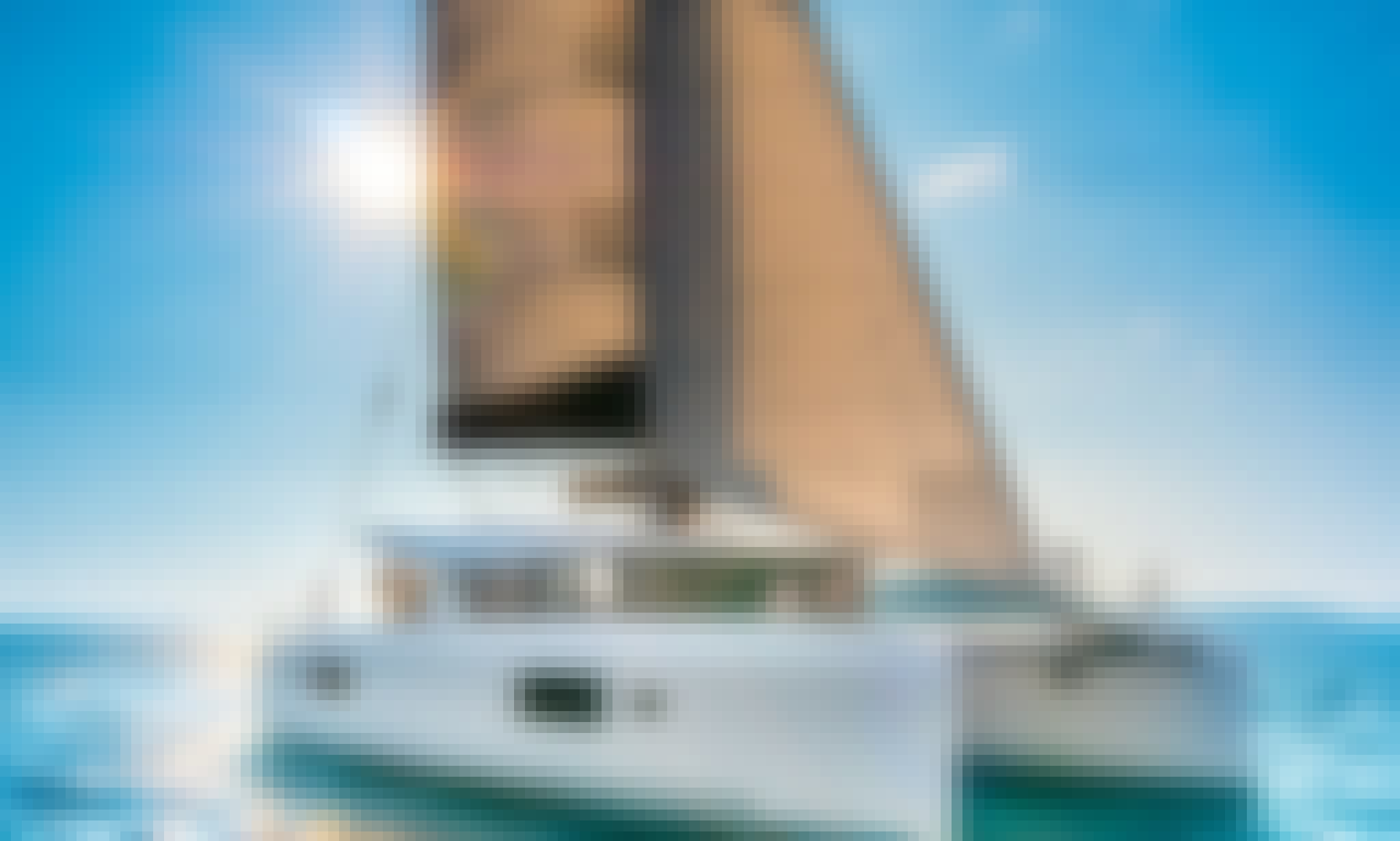 """Exploration of the Adriatic was never so easy as on Lagoon 42 Catamaran """"Sea Voyager"""" with A/C in Split, Croatia"""