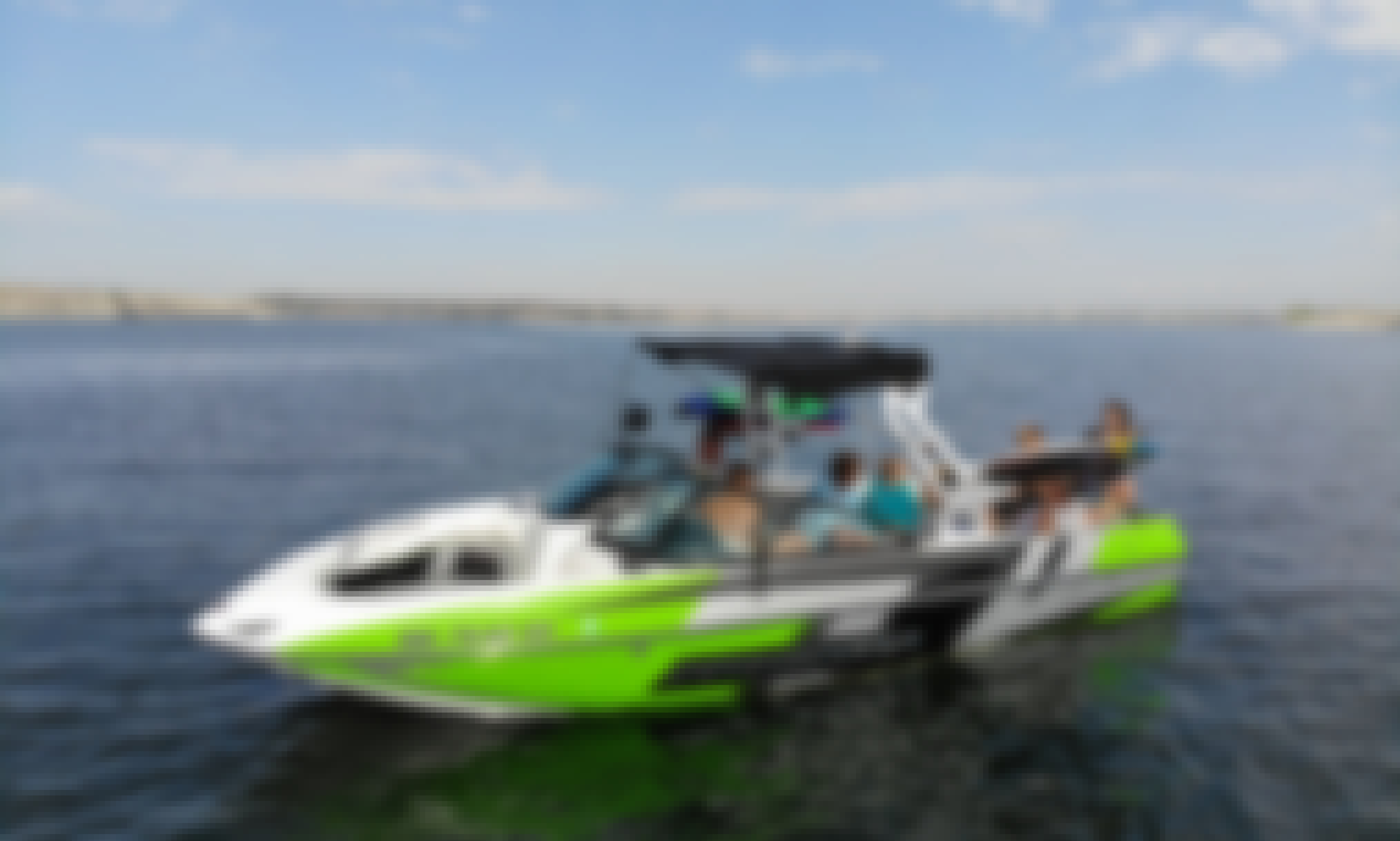 23' Moomba Mojo Wakeboat for Rent in Denver Area