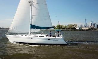 42' Catalina Sailing Yacht in the Hamptons