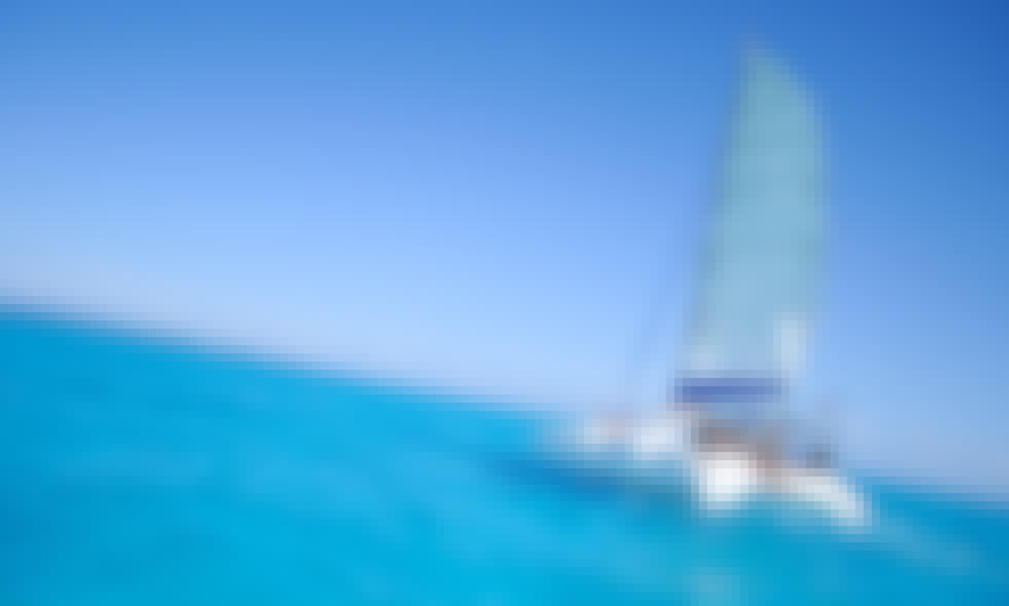 Sailing Catamaran for Rent in Punta Sam, Cancun