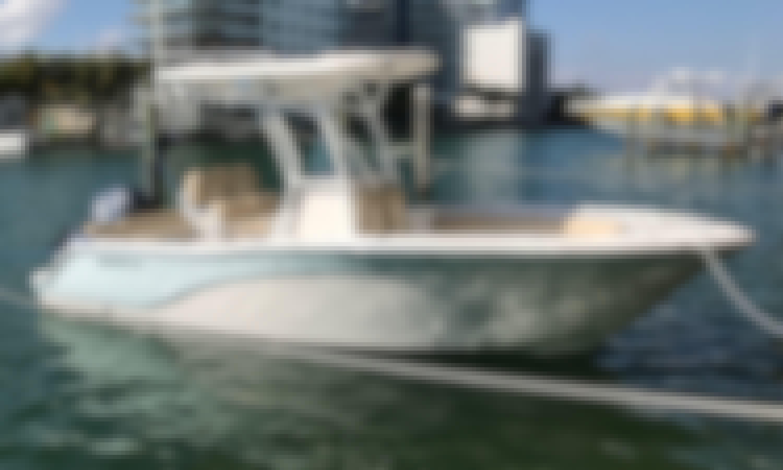 23' Sea Fox Commander in Miami Beach.