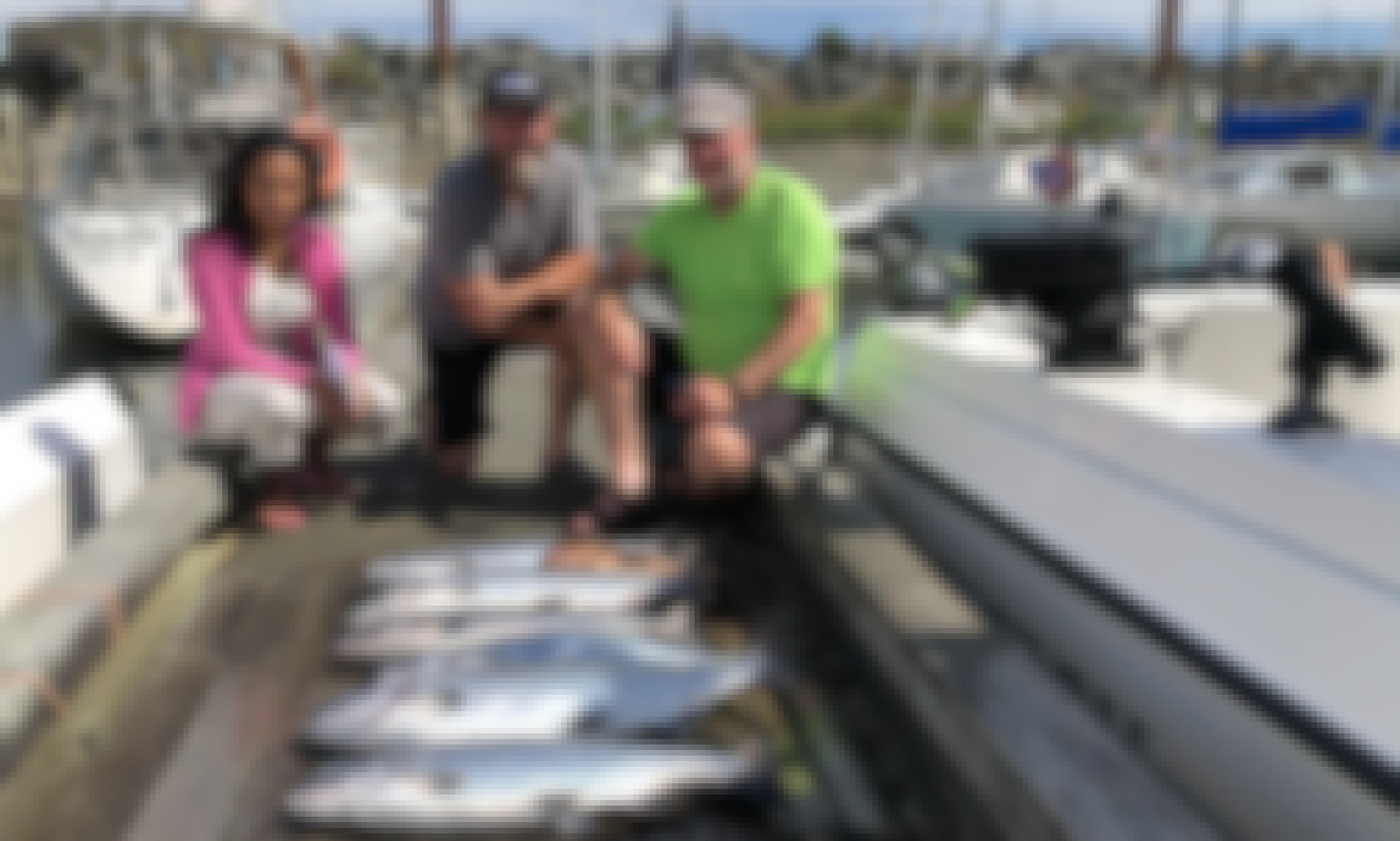 26 ft Aqua Sport Fishing Charter in Comox